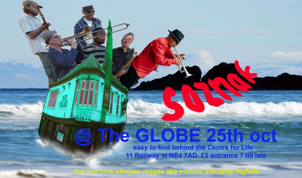 globe new poster